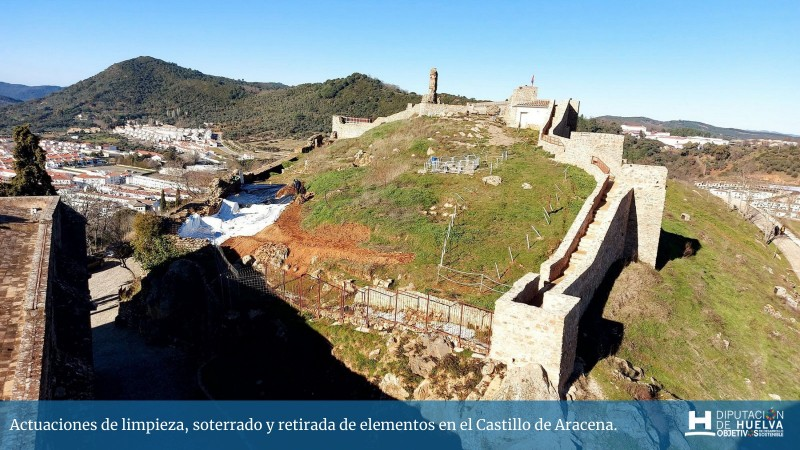 <span style='color:#780948'>ARCHIVED</span> - Aracena Castle in Huelva increases tourism attraction of its medieval castle