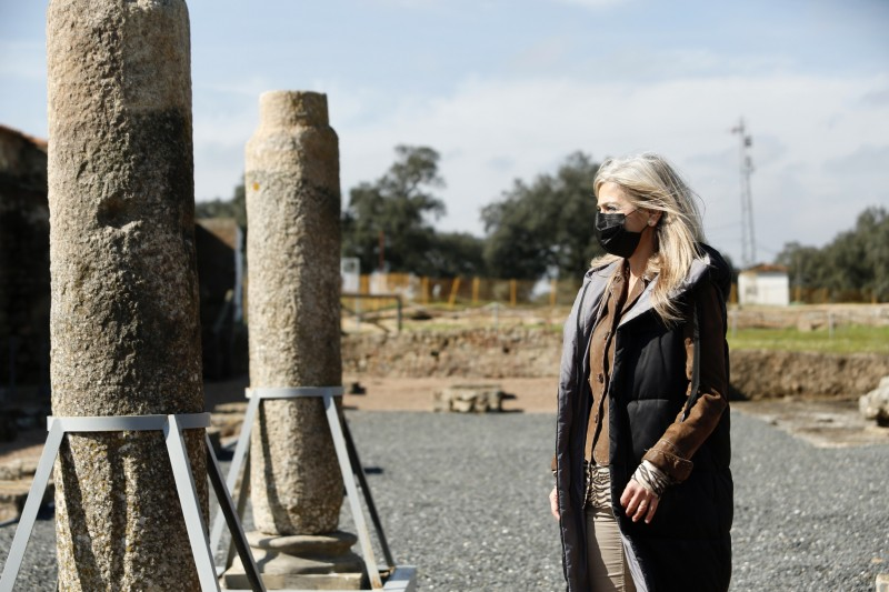 40,000 euros to continue work on Huelva Hispano-Roman archaeological site of Turóbriga
