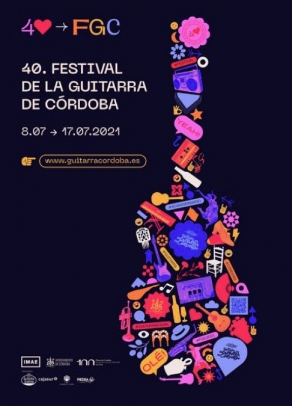 20 concerts to celebrate Cordoba Guitar Festival 40th anniversary 8-17 July 2021