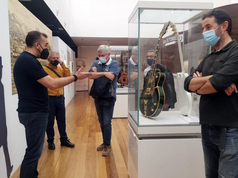 Electric guitar exhibition extended at Almeria Guitar Museum until May 23