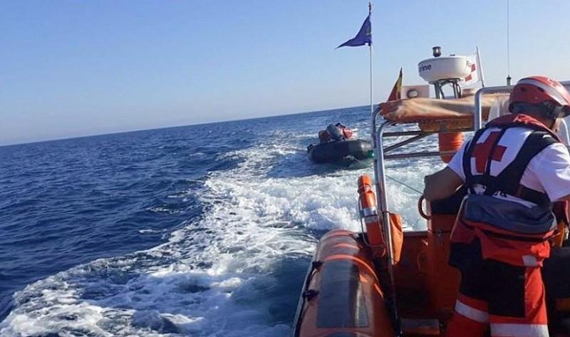 <span style='color:#780948'>ARCHIVED</span> - 82 irregular migrants intercepted in the Strait of Gibraltar off Cadiz