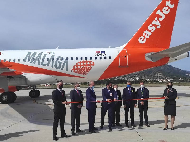 <span style='color:#780948'>ARCHIVED</span> - New EasyJet base opened at Malaga Airport