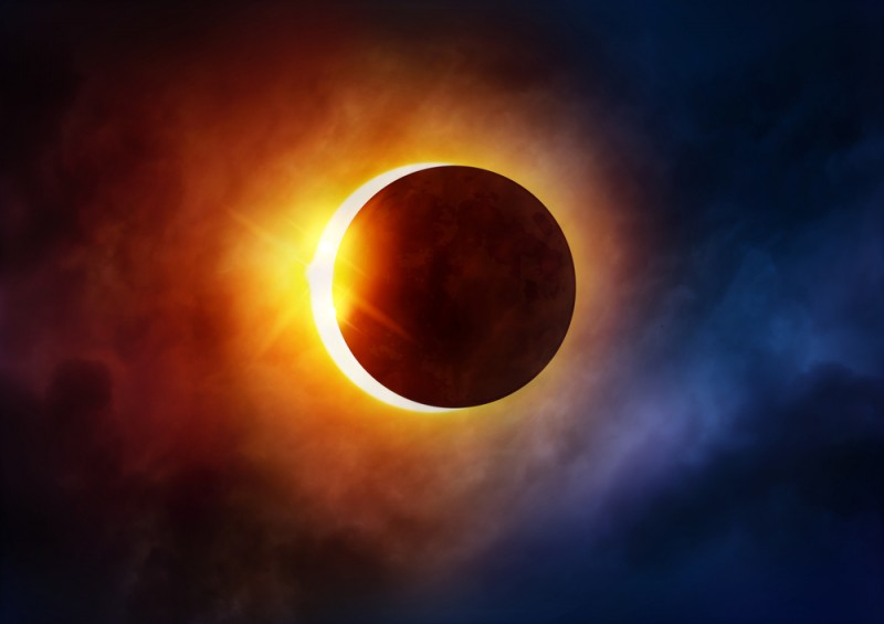 <span style='color:#780948'>ARCHIVED</span> - Partial solar eclipse will be visible across much of Spain on Thursday June 10