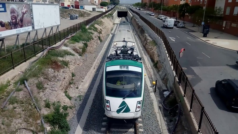 Renfe begins to train drivers for new Almeria to Granada line