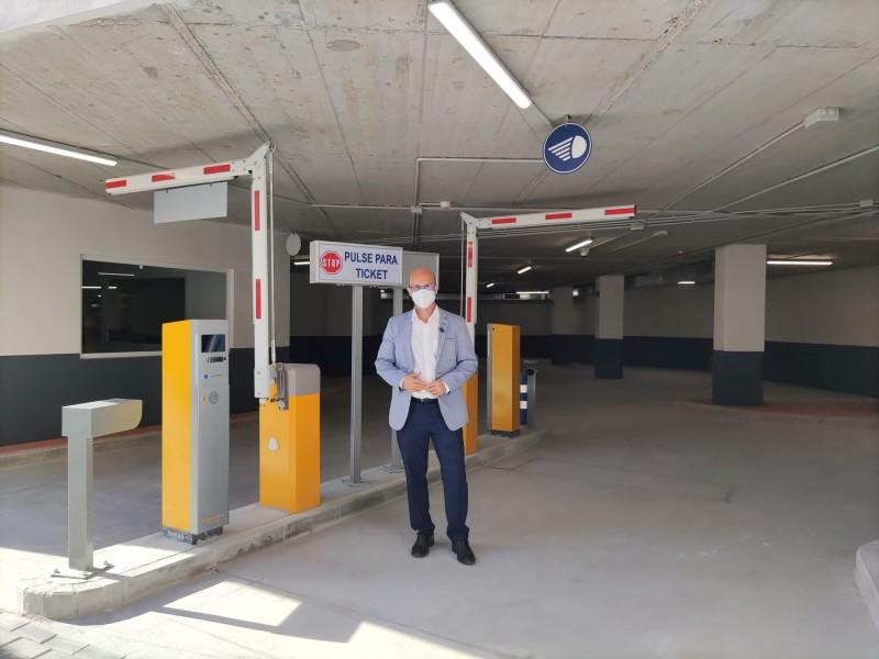 Underground car park works in El Juncal Mijas now complete