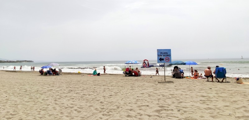 <span style='color:#780948'>ARCHIVED</span> - Twice as many smoke-free beaches in Andalusia this year