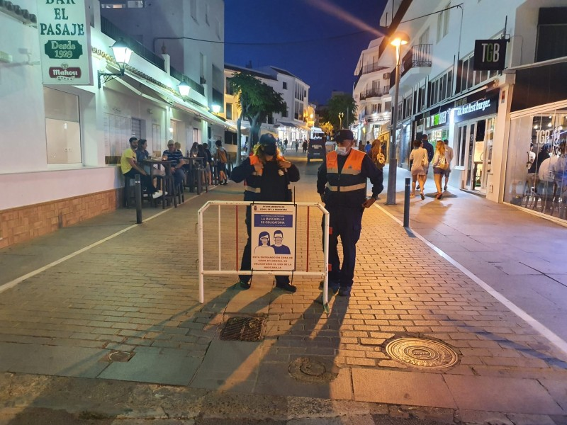 <span style='color:#780948'>ARCHIVED</span> - Cadiz council brings facemasks back and requests curfew to reduce the spread of Covid
