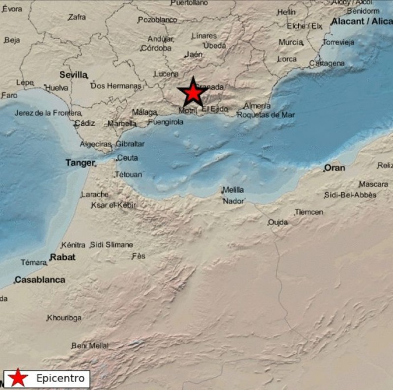 <span style='color:#780948'>ARCHIVED</span> - Granada shaken by earthquake twice in a 12 hour period