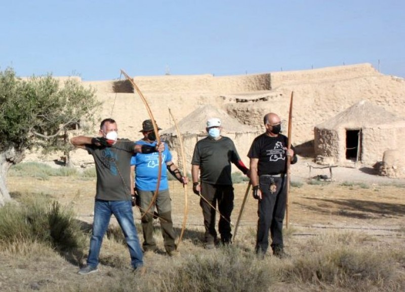 <span style='color:#780948'>ARCHIVED</span> - Prehistoric archaeological site in Almeria hosts Archery and Spear Throwing Contest