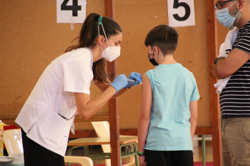 <span style='color:#780948'>ARCHIVED</span> - Andalusia to vaccinate 5-11-year-olds by end of October