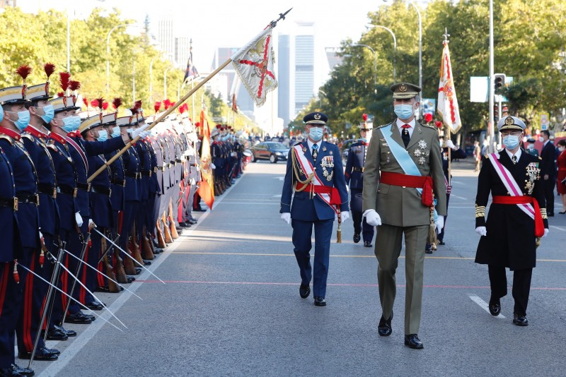 President Sanchez greeted by boos at the National Day parade in Spain